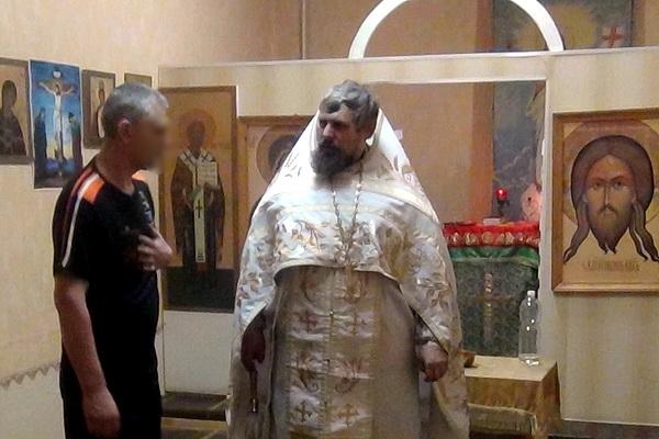 В следственном изоляторе №1 состоялась праздничная божественная литургия в честь Святителя Николая Чудотворца