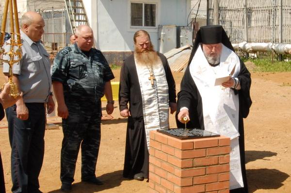 В исправительной колонии №3 УФСИН России по Смоленской области будет построен православный храм