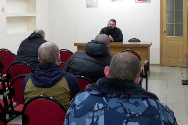 Священнослужитель рассказал осужденным в колонии-поселении №7 о Великом посте