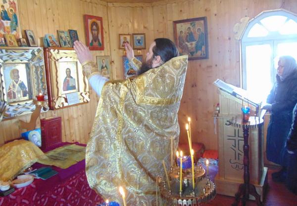 В часовне колонии-поселения №7 состоялось богослужение в честь праздника Иоанна Предтечи