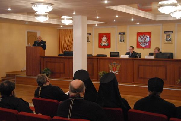 В УФСИН России по Смоленской области обсудили взаимодействие с Русской Православной Церковью