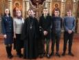 В Рославле несовершеннолетние осужденные встретились со священником